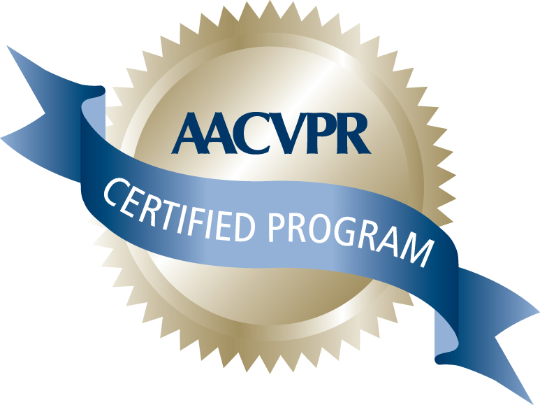 American Association of Cardiovascular and Pulmonary Rehabilitation (AACVPR) Certified