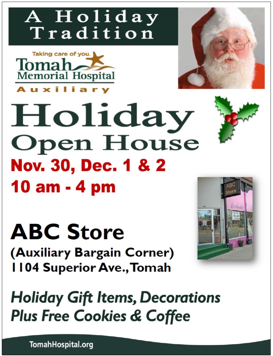 Auxiliary hooliday open house 2017