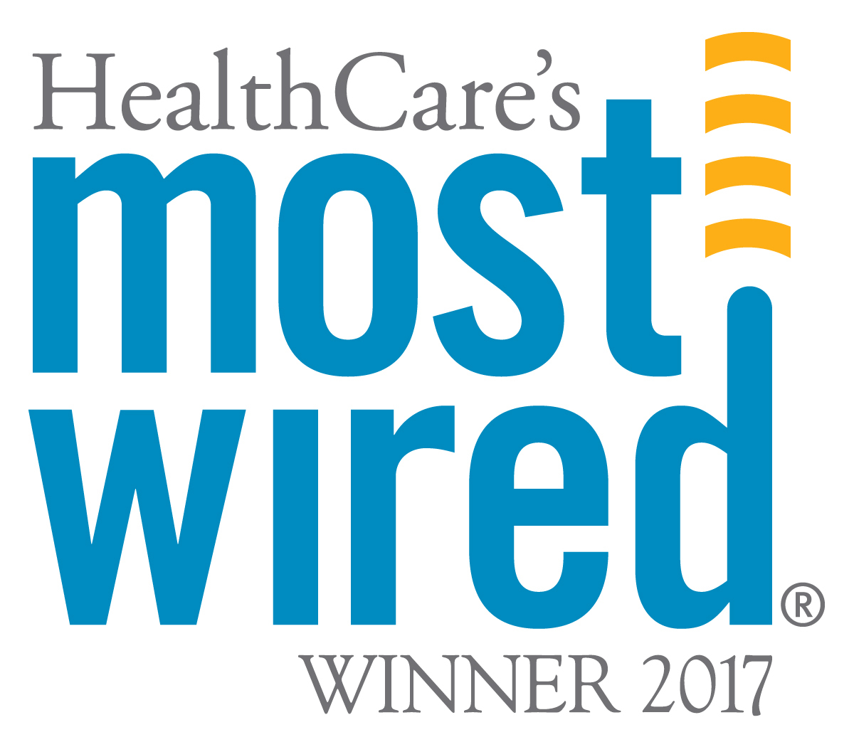 Most Wired 2017 logo