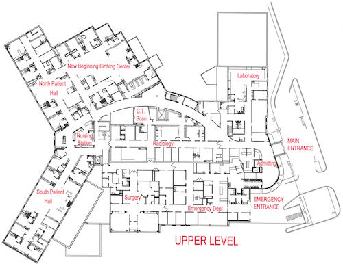 TMH Hospital FacilityMaps MainLevel sm